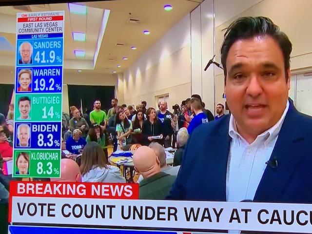 Nevada: primeros resultados parciales apuntan a fuerte respaldo a Sanders y lucha por la segunda plaza