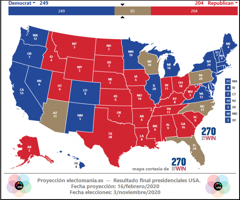 Las elecciones americanas se decidirán en la balanza de la economía