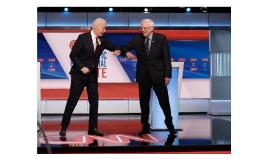 Hoy, otro «asalto» entre Biden y Sanders