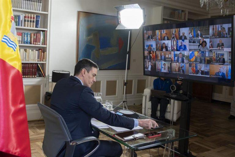 Sánchez pide a los Presidentes autonómicos un listado de potenciales alojamientos para positivos asintomáticos