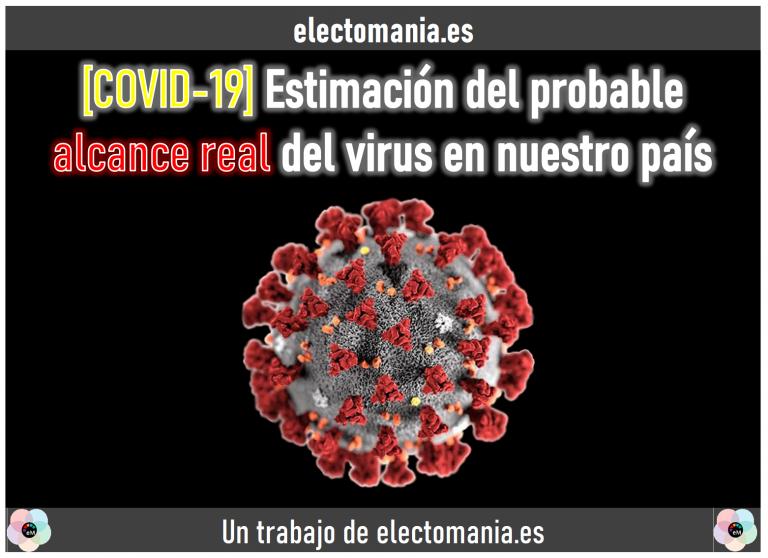 [COVID-19] Estimación del probable alcance real: un 18% de contagiados y casi 1.500 fallecidos adicionales