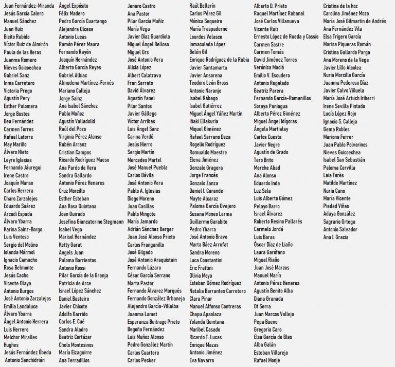 Más de 250 periodistas firman un manifiesto contra la 'selección de preguntas' del Gobierno en sus ruedas de prensa