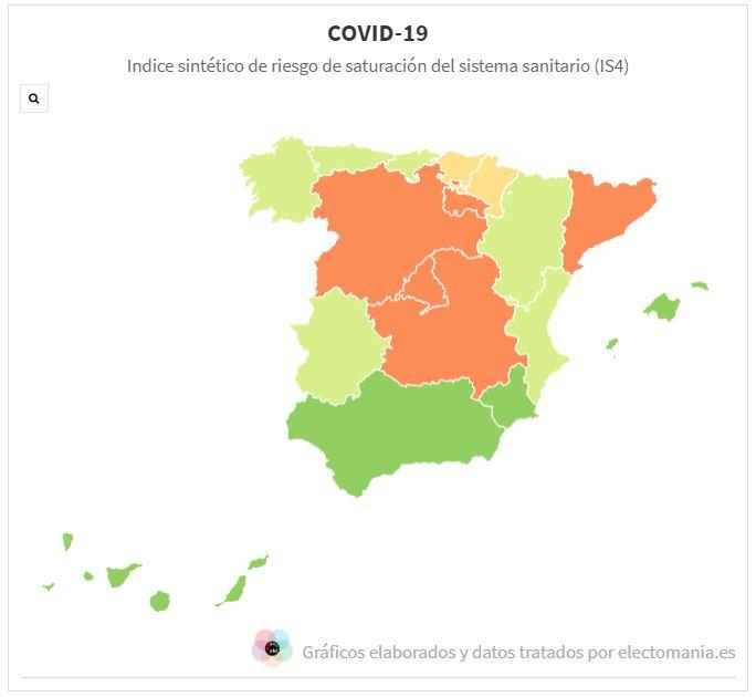 COVID-19 (04My). Siguen descendiendo los indicadores de incidencia