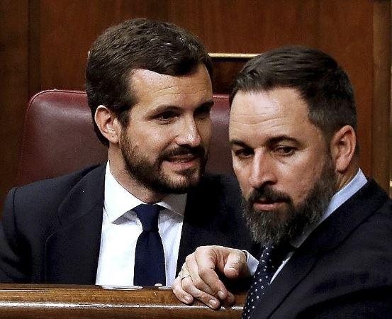 Abascal dice que Vox aceptaría ocupar la Presidencia de la Asamblea de Madrid