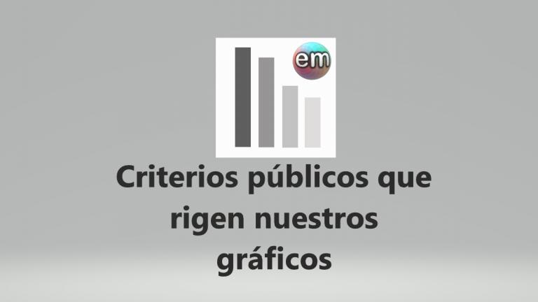 EM: criterios públicos que rigen nuestros gráficos