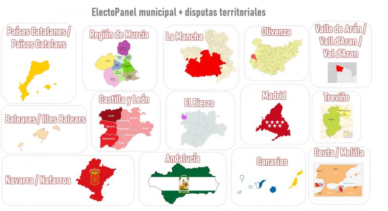 Abrimos un ElectoPanel especial: municipal y disputas territoriales