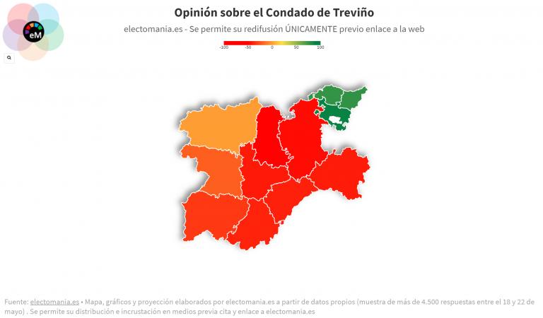 ElectoPanel (22My): tanto Burgos como Álava quieren que Treviño sea parte de su provincia
