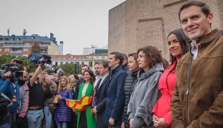 """PP, Vox y Cs vuelven a Colón este 13J para decir """"no"""" a los indultos de Sánchez pero rehuirán una foto como la de 2019"""