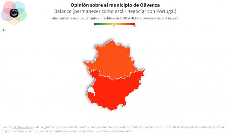 EP (24My): los extremeños no están dispuestos a que Olivenza pueda unirse a Portugal