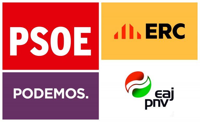 ERC y el PNV apoyarán la prórroga de un mes del Estado de Alarma