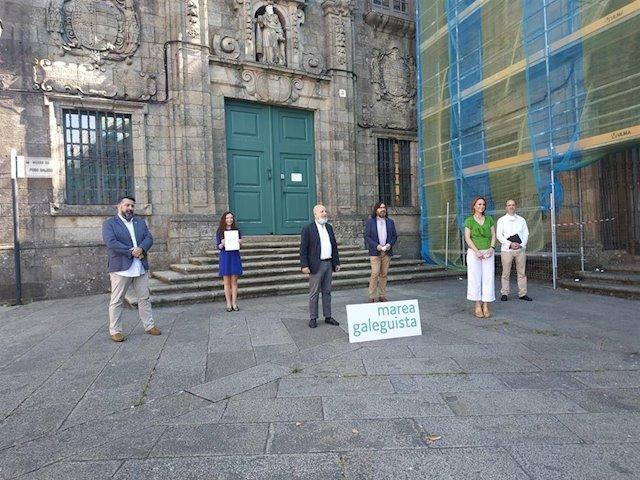 Marea Galeguista será la marca de la coalición de En Marea con Compromiso x Galicia y Partido Galeguista