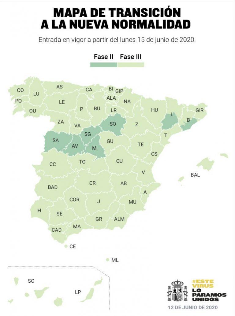 Listado de cambio de fases en la desescalada: Galicia estrena la Nueva Normalidad