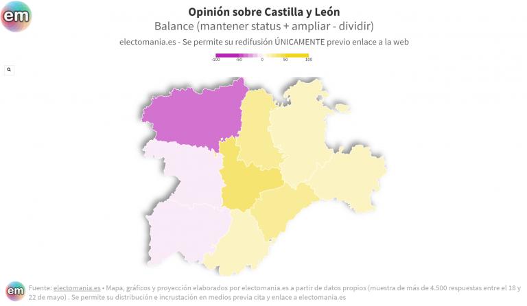 ElectoPanel (1J – II): Castilla y León, dividida por la 'Región Leonesa'