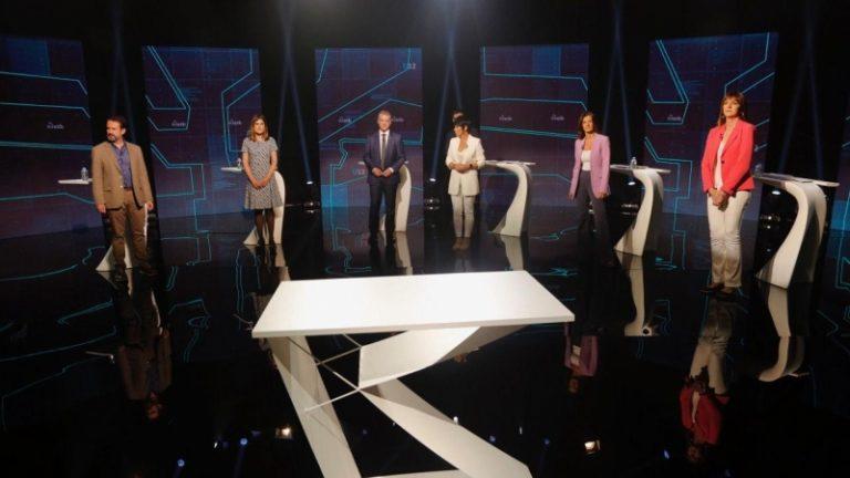 EuskoDebate: sigue con nosotros el debate en castellano entre los candidatos a Lehendakari