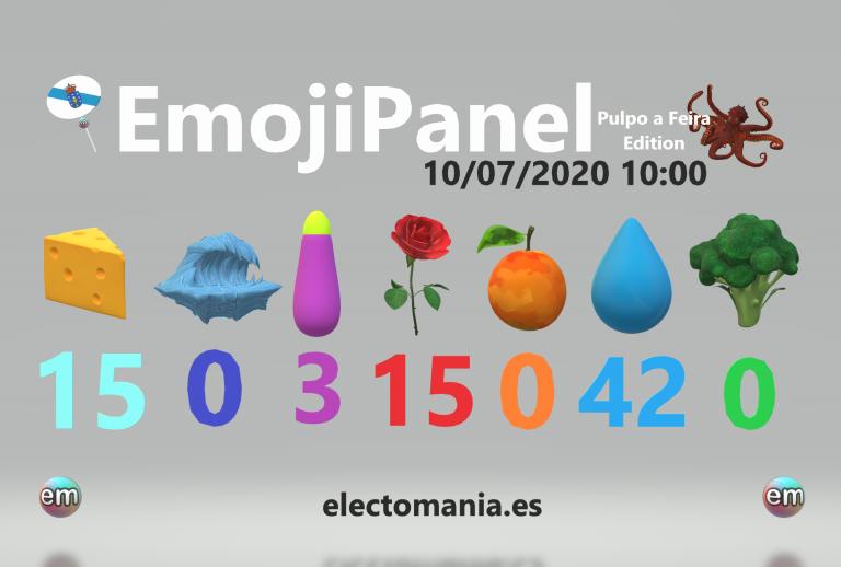 EmojiPanel (10h): empate entre el queso y las rosas en Galicia. Germina cEHBollino en una maceta de las rosas vascas