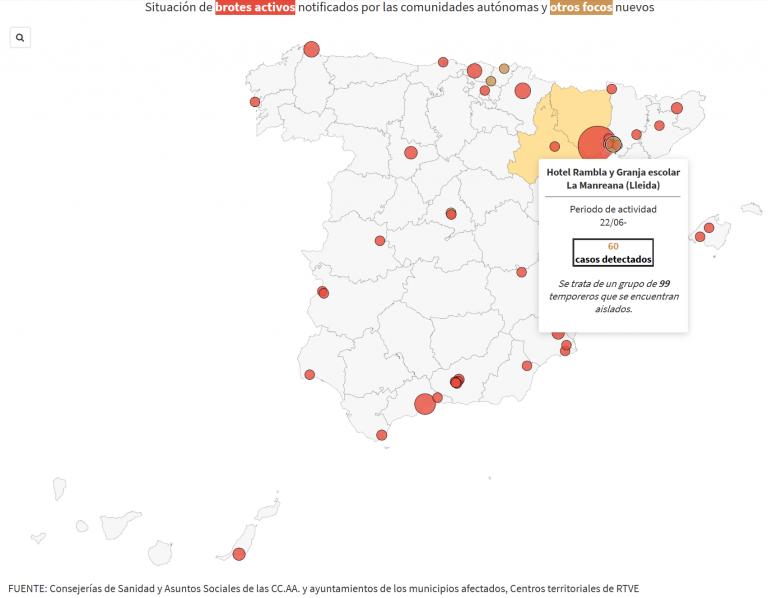 Torra decreta el confinamiento del Segrià (Lleida) ante el aumento de casos