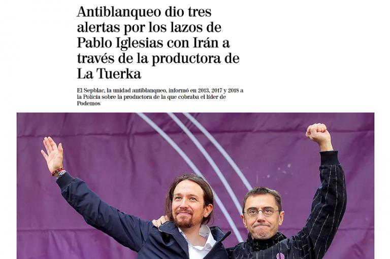 El Confidencial: un juzgado investiga a Podemos por presunta malversación y administración desleal