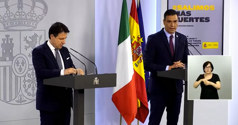 Sánchez se da seis meses para pedir o no préstamos del MEDE