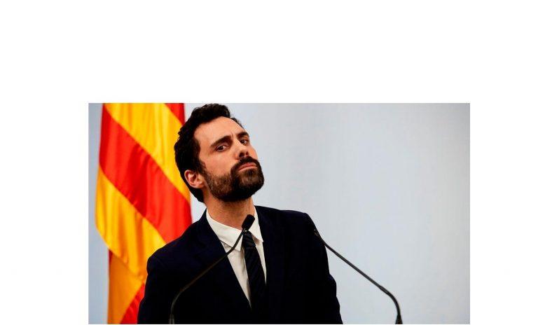 Roger Torrent, Presidente del Parlament de Cataluña, víctima de un intento de hackeo en 2019 'por parte de algún gobierno'