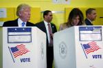 trump melania vote