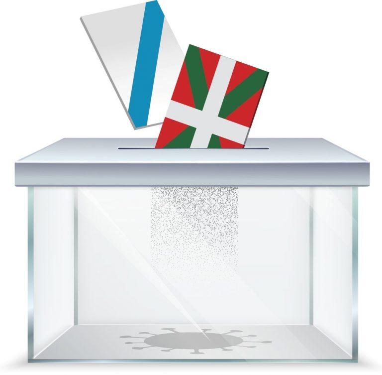 Elecciones en plena pandemia: así podría afectar el miedo al COVID en Galicia y Euskadi
