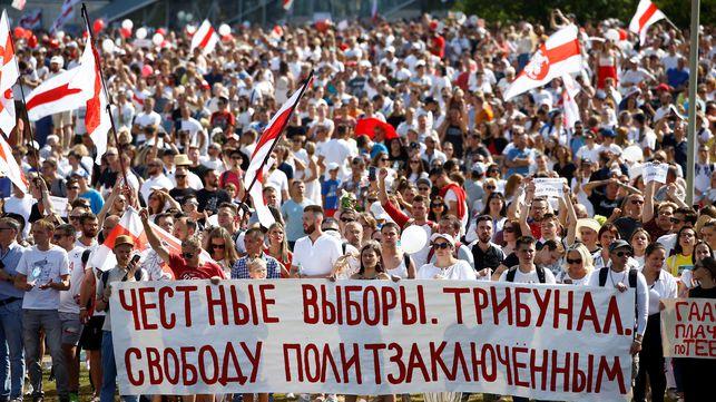 Crece la tensión en Bielorrusia