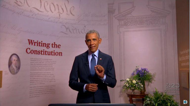 Obama y Hillary Clinton calientan la convención demócrata
