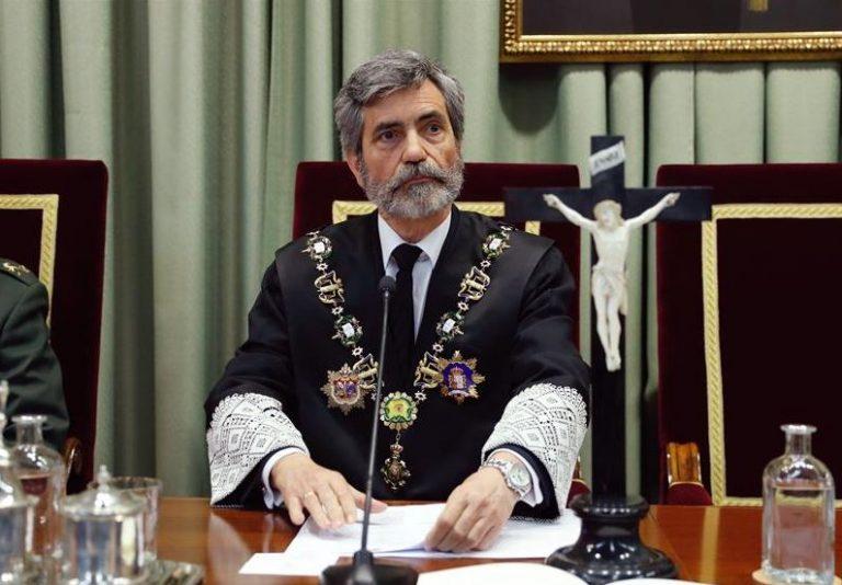 Lesmes carga contra PP y PSOE por el bloqueo de los órganos judiciales