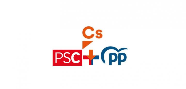 Ciudadanos propone una coalición Cs+PSC+PP en Cataluña