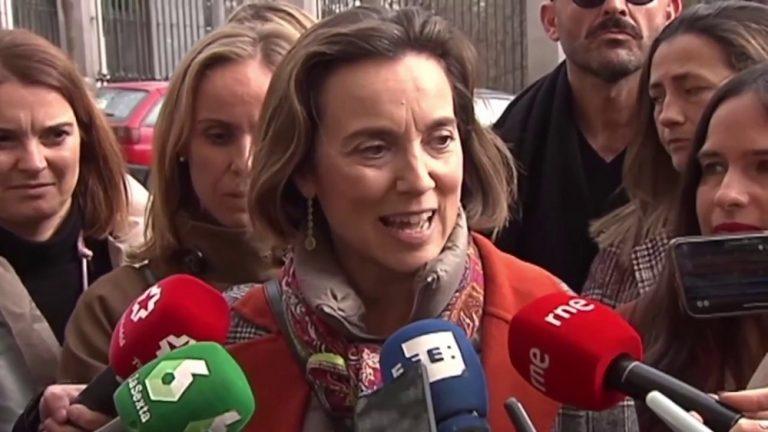 Cuca Gamarra se estrenará pidiendo comisión de investigación sobre Podemos y no apoyando la moción de censura de Vox