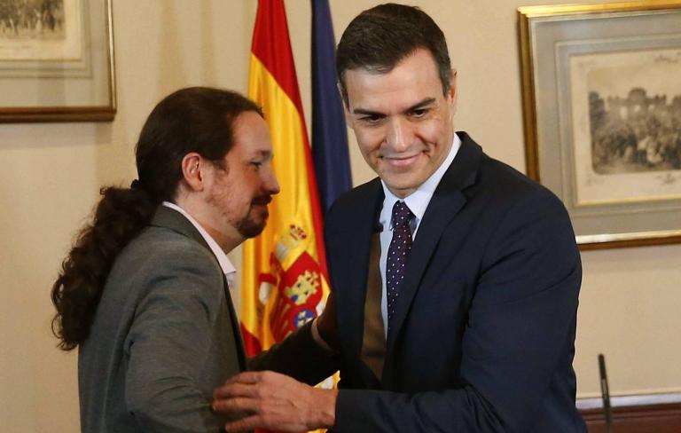 """Pablo Iglesias reclama más empresa pública en España: """"a ver si convenzo a de verdad a Pedro"""""""