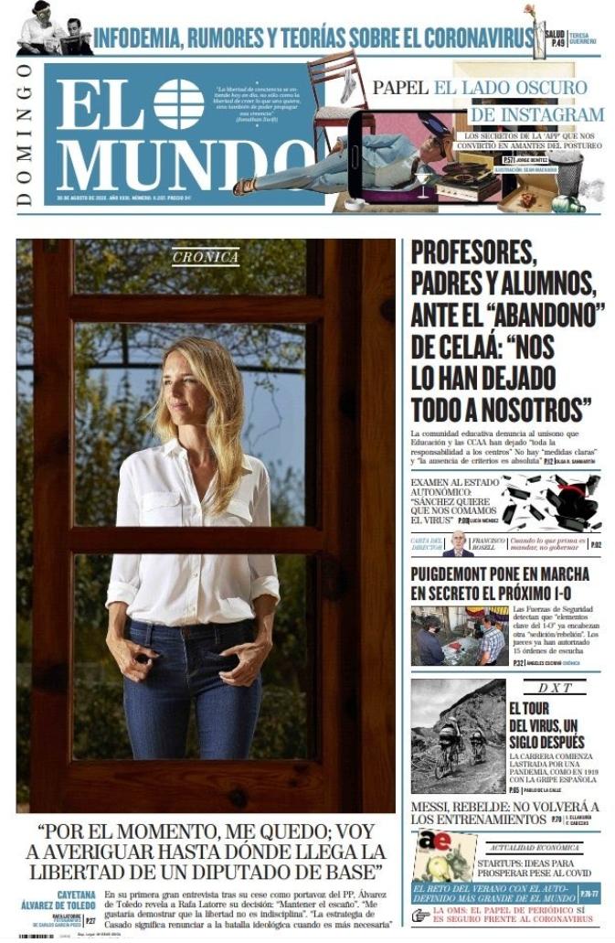 Cayetana Álvarez de Toledo seguirá como diputada del PP