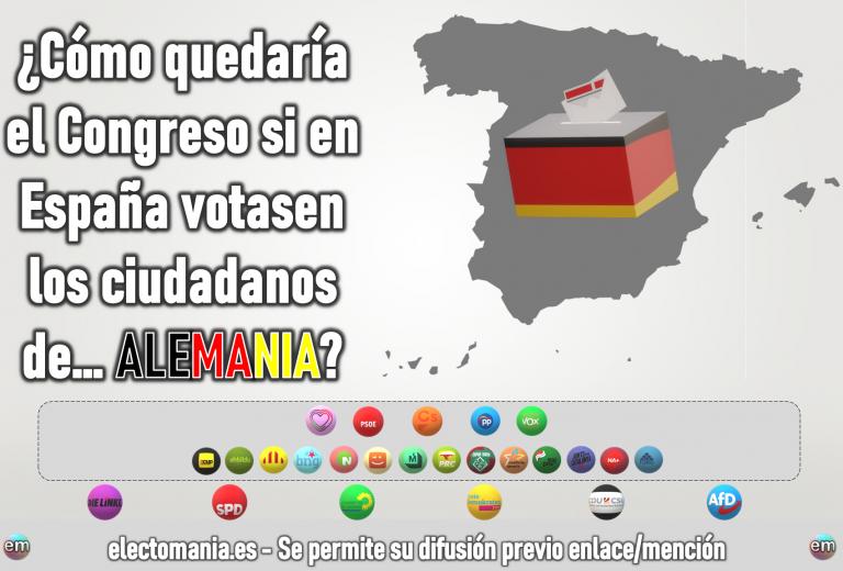 ¿Cómo sería el Congreso si en España votaran los alemanes? Casado habría tenido que escoger o Gran Coalición o Vox