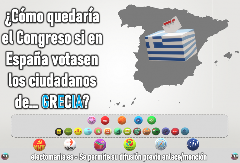 ¿Cómo sería el Congreso si en España votasen los griegos? Pablo Iglesias frente a Pablo Casado