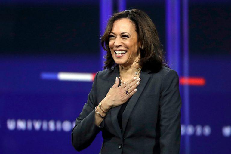 Kamala Harris, candidata del partido demócrata a la Vicepresidencia de EEUU
