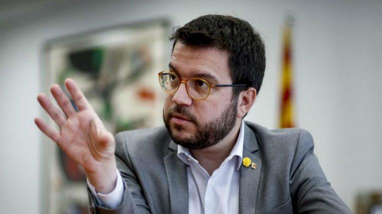 Aragonès fija como objetivo conseguir la participación más alta posible» en las elecciones