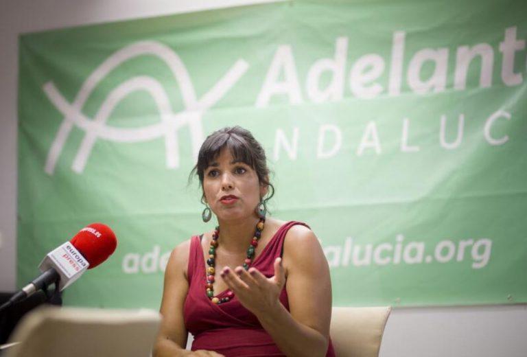 El TC rechaza suspender de modo cautelar la expulsión de Teresa Rodríguez y ocho diputados más de Adelante Andalucía