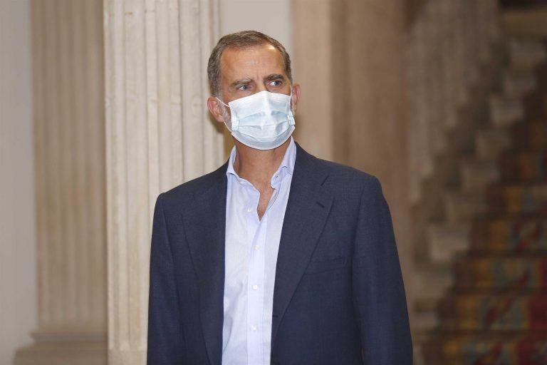 Coronavirus: Felipe VI, en cuarentena tras tener contacto con un positivo COVID