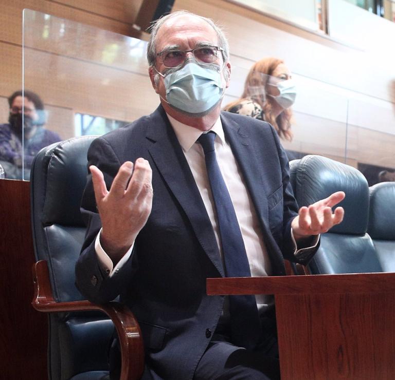 Madrid: Gabilondo plantea la moción de censura a Ayuso, pero solo si hay apoyos