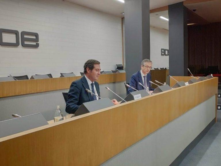 Garamendi: los empresarios estamos más cerca de los sindicatos que del gobierno en el tema de los ERTES