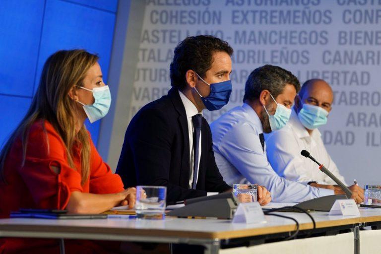 El PP acusa a Sánchez de pasividad y a Iglesias de complicidad con la okupación