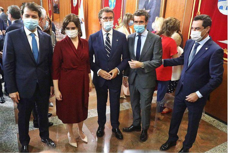 Presidentes autonómicos del PP reclaman unificar criterios de actuación ante la COVID