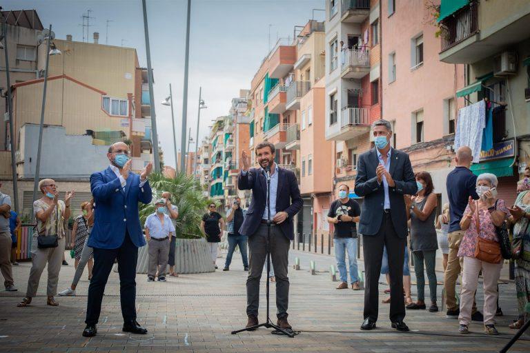 Casado vuelve este jueves a Cataluña para apoyar al PPC, en la víspera de que se decida si se aplazan o no las elecciones