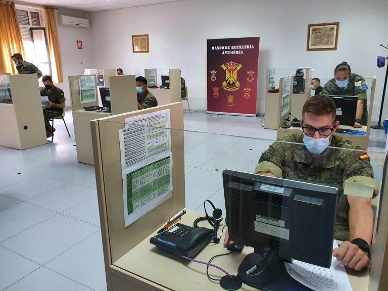 El ejército incorpora 64 rastreadores a la Comunidad de Madrid