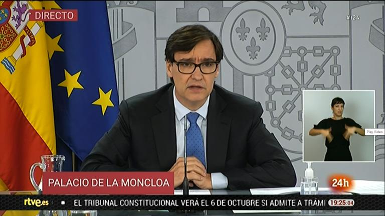 Illa anuncia el confinamiento de diez municipios con más de 100.000 habitantes, todos en Madrid