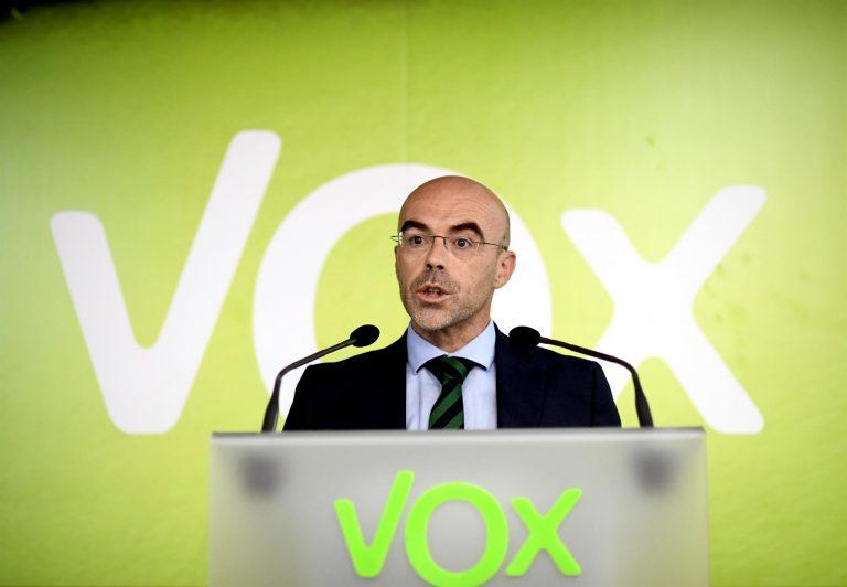 Vox al PP: o se vota a favor de la moción de Vox, o se está apoyando el gobierno del PSOE