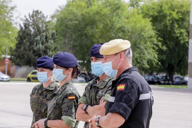 50.000 militares han recibido la primera dosis y 5.000 la dosis completa