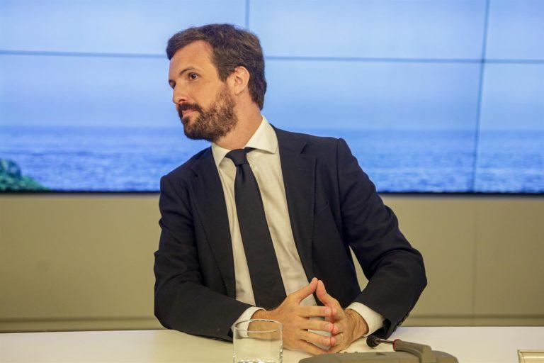 Casado presume de respuesta rápida frente a la corrupción, a diferencia del PSOE de los ERE