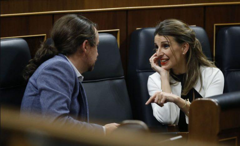Unidas Podemos se congratula de que el TS no abra causa contra Pablo Iglesias
