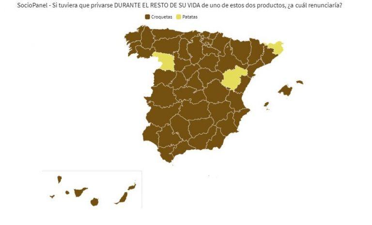 SocioPanel (6sept): los españoles destierran a las croquetas para seguir comiendo patatas